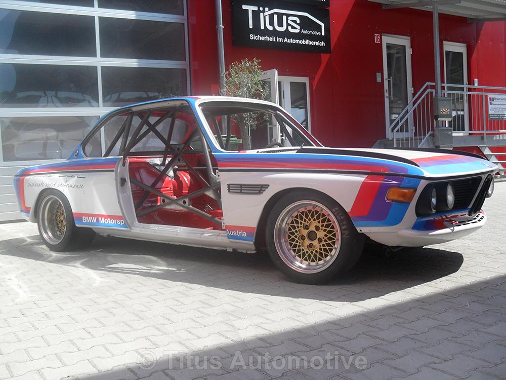 BMW CSL Einschweißkäfig