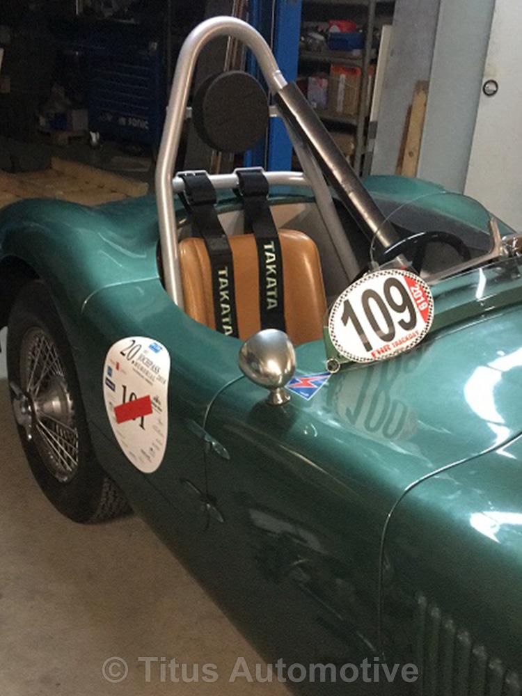 Jaguar-XK Schraubkäfig