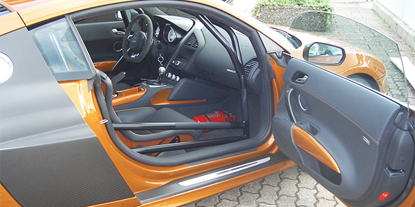 Audi R8 Teaser