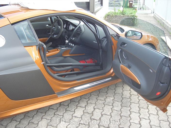 Audi R8 Seitenansicht